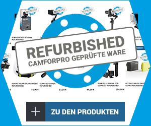 camforpro Refurbished gute gebrauchte geprüfte Ware